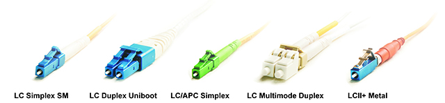 LC fibre optic cables